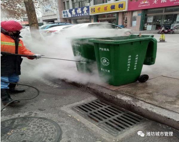 """奎文区环卫处开展""""清洁家园""""环境整治活动"""
