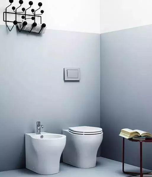 入墙式卫浴洁具,省空间没有卫生死角!!