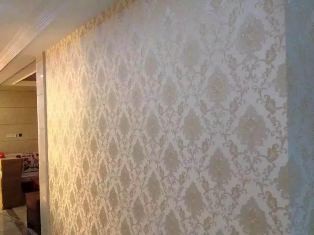追求个性与完美!现在墙纸都这么贴!用这种材料代替,太聪明了!