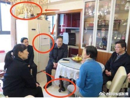 上海回应:桌子不是红木,两家因病致困