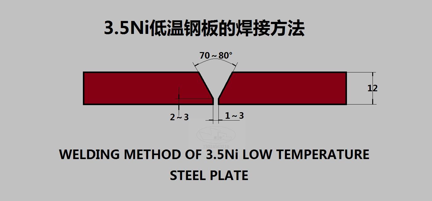 3.5Ni低温钢板的焊接方法