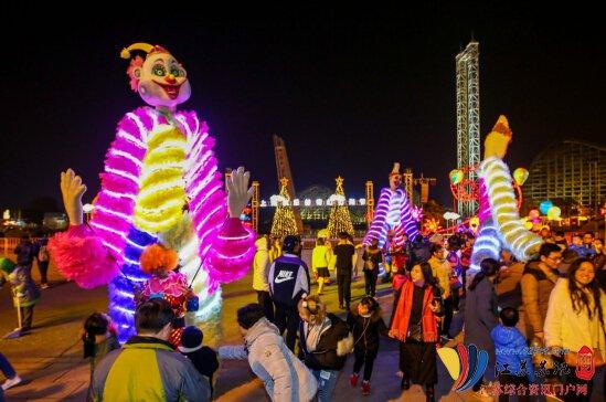5大跨年新体验,上海欢乐谷邀您元旦共赴灯光节大赏