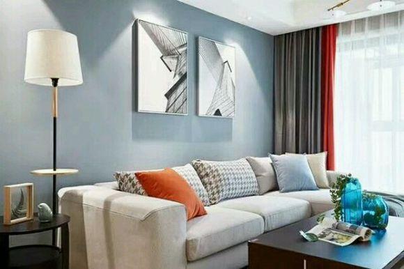 89平米现代美式装修, 文化石电视墙漂亮, 婆婆却说难看!