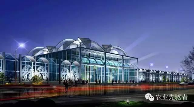 高规格智能温室!