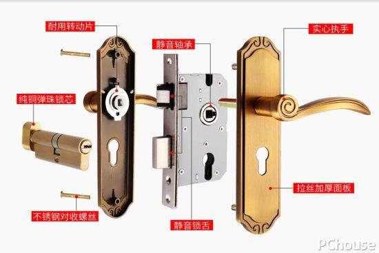 门锁的选购注意事项 防盗门锁品牌大全