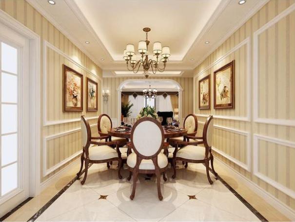 160平简欧风格,营造日常居家不同的感觉,这材料装饰真美