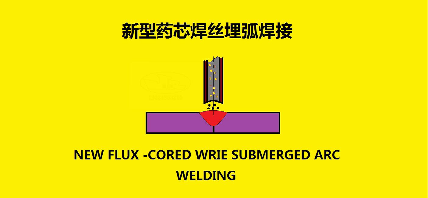 新型药芯焊丝埋弧焊接