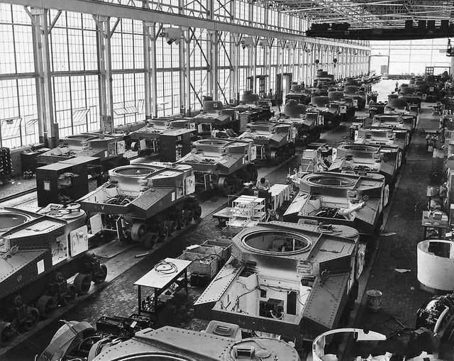 二战德国为何不打美国?看看他们的生产力,才知道什么叫工业强国