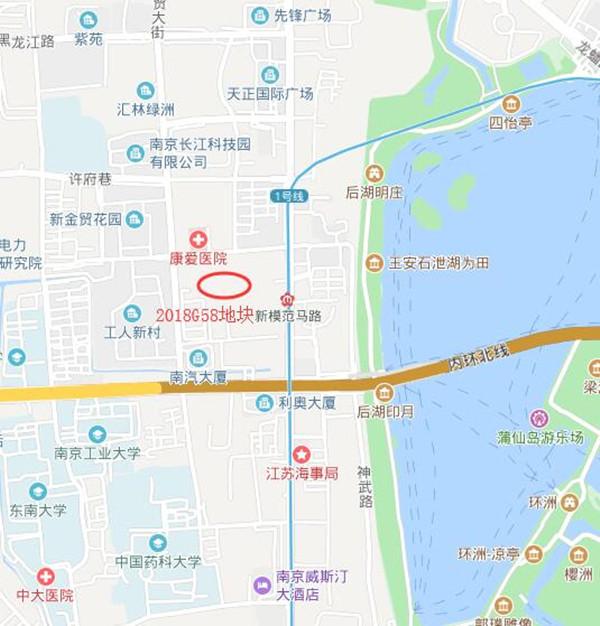 南京土拍恢复,4幅地块全部底价成交 玄武湖西侧添10万平方米商业体