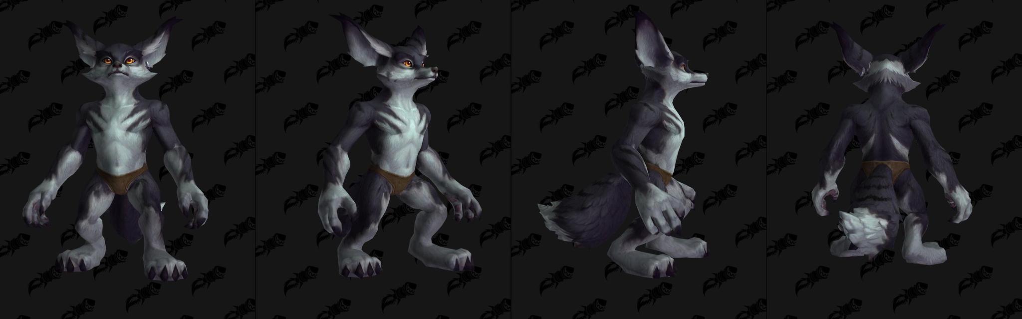 《魔兽世界》8。0狐人新增毛皮定制选项和特殊动作!