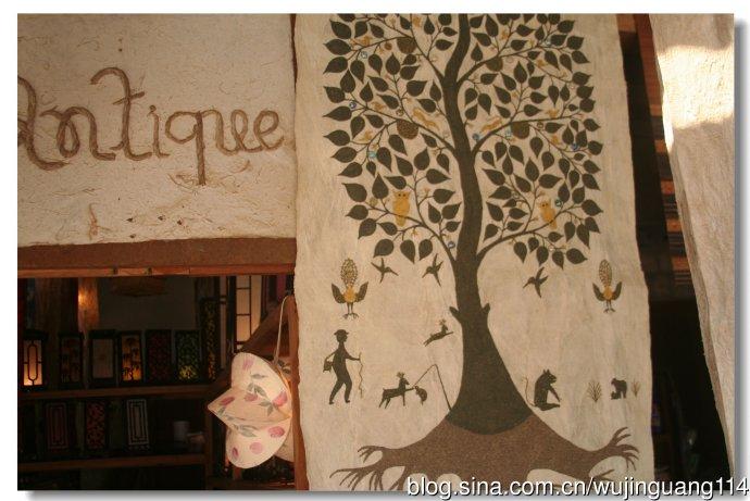 游老挝最值得购买的原生态纸工艺品(图)