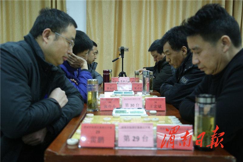 临渭区象棋公开赛在市体育中心举行