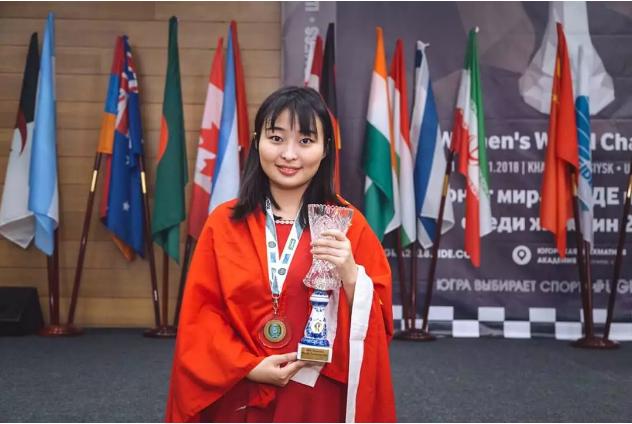 国际象棋战绩傲人,入选2018国内十大体育新闻!