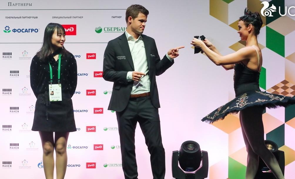 国际象棋快棋和超快棋锦标赛开幕 前女子冠军居文君出席