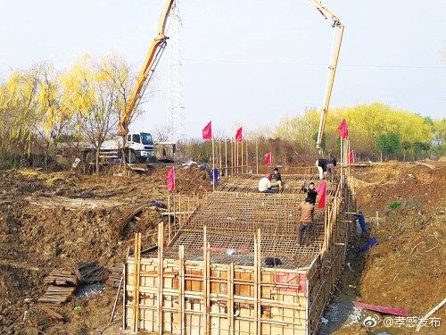 朱湖湿地抢抓基础设施建设
