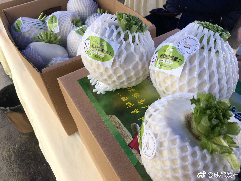 """推动""""买全川 卖全球"""" 今日100余吨农产品发往欧洲"""