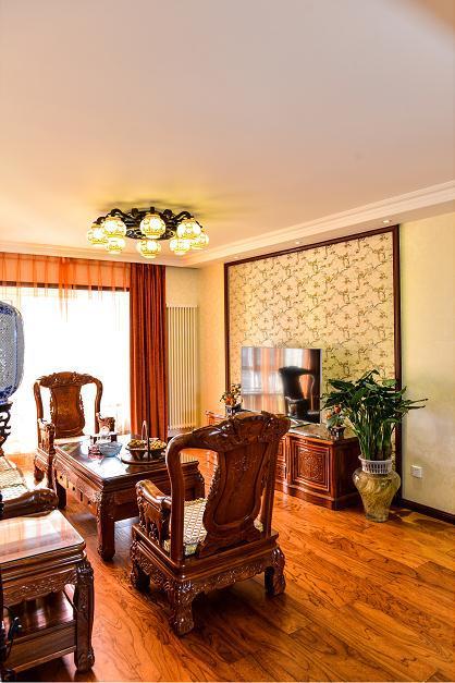 147平新房终于完工,全屋中式家具很亮眼,灯饰选择有情调,晒晒