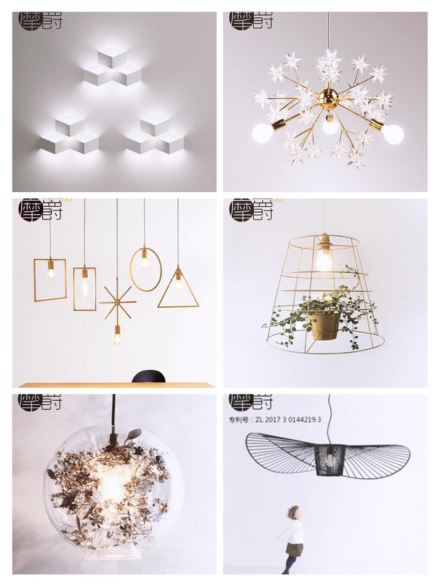 北欧灯饰,让你的家与众不同。各种灯饰独家分享
