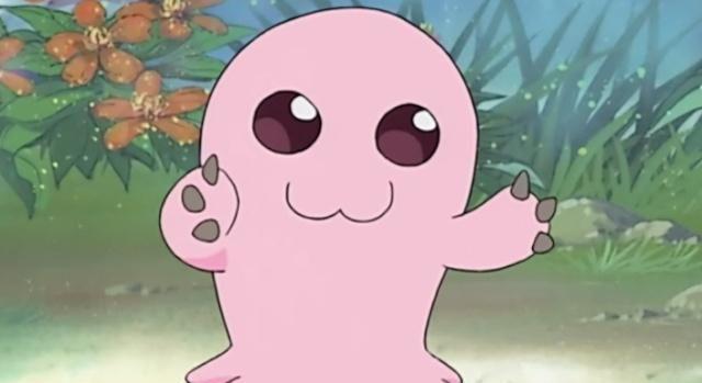 数码宝贝:盘点八位幼年期数码兽,迪哥兽像小猪,滚球兽萌化了