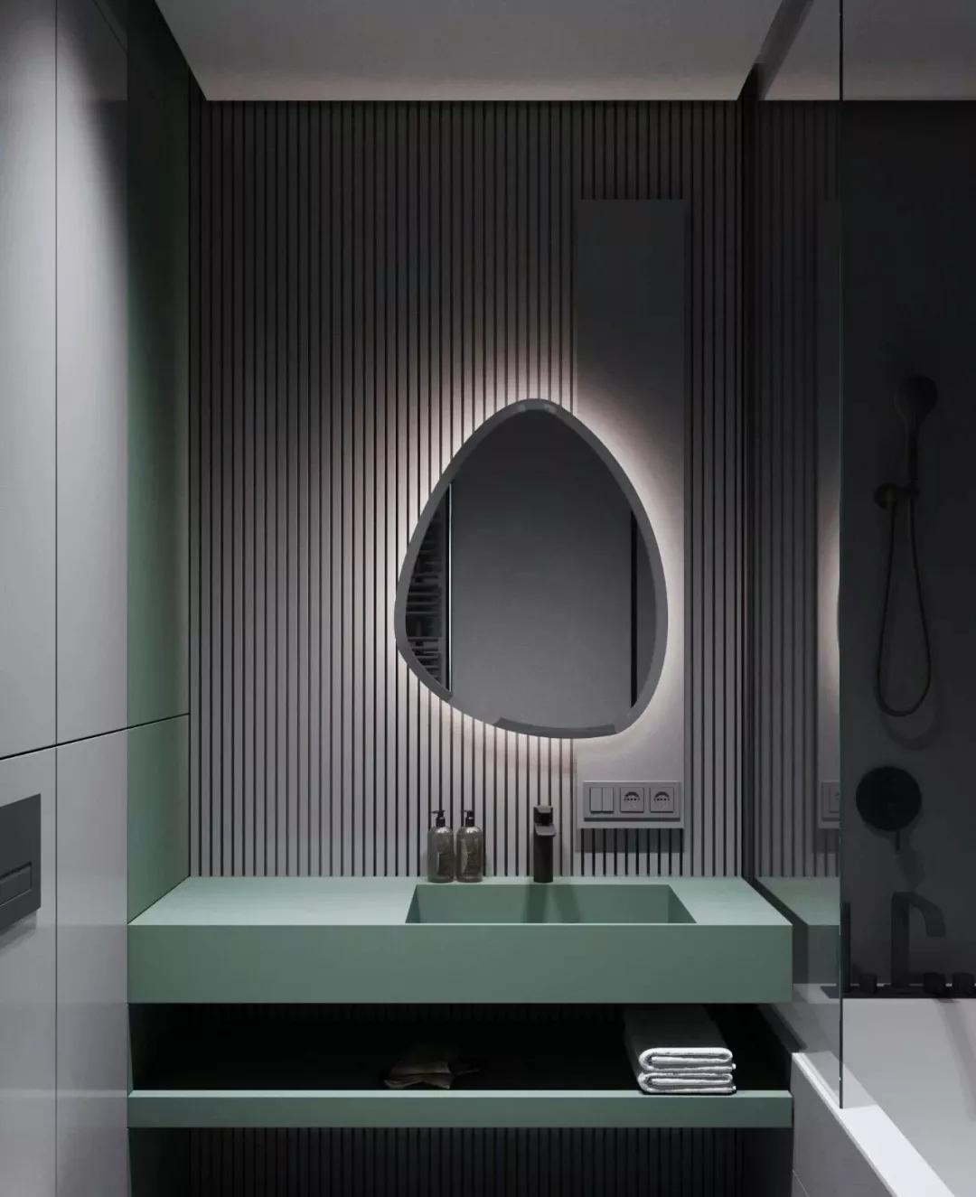 装修公司 瓷砖、墙面、洁具选的好,卫生间不要太美!