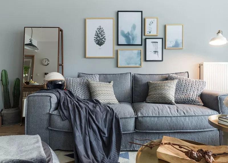 沙发背景墙装饰参考