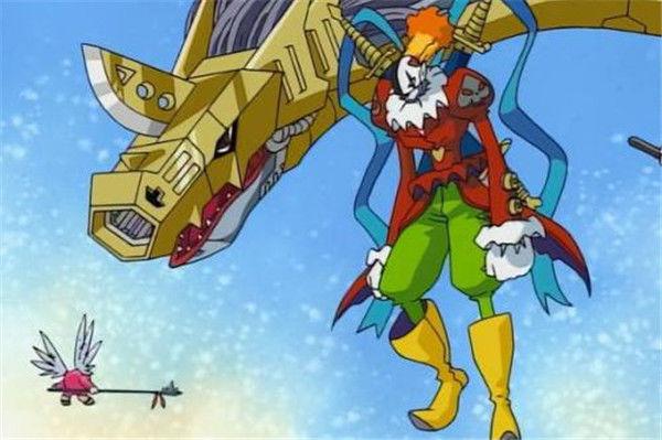 拥有强大潜力的5只数码兽,一只挑战四天王,一只为暴龙兽而牺牲