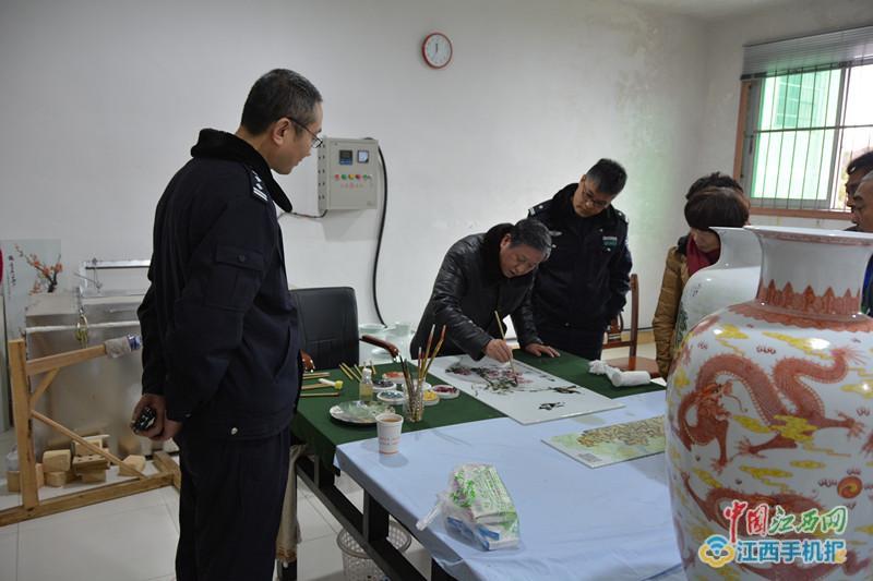 景德镇监狱举办迎新年陶瓷艺术帮教活动(图)