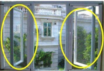 现在一般人都不用普通纱窗了,他们都在家装这种你见过吗?