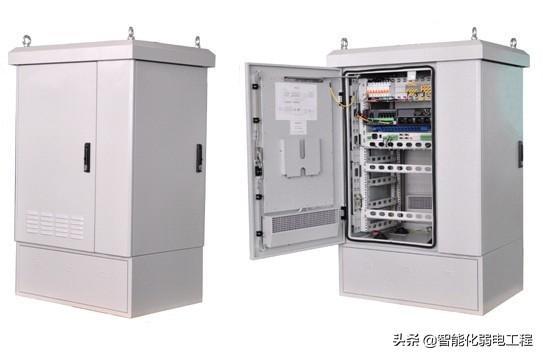 弱电工程室外一体化机柜
