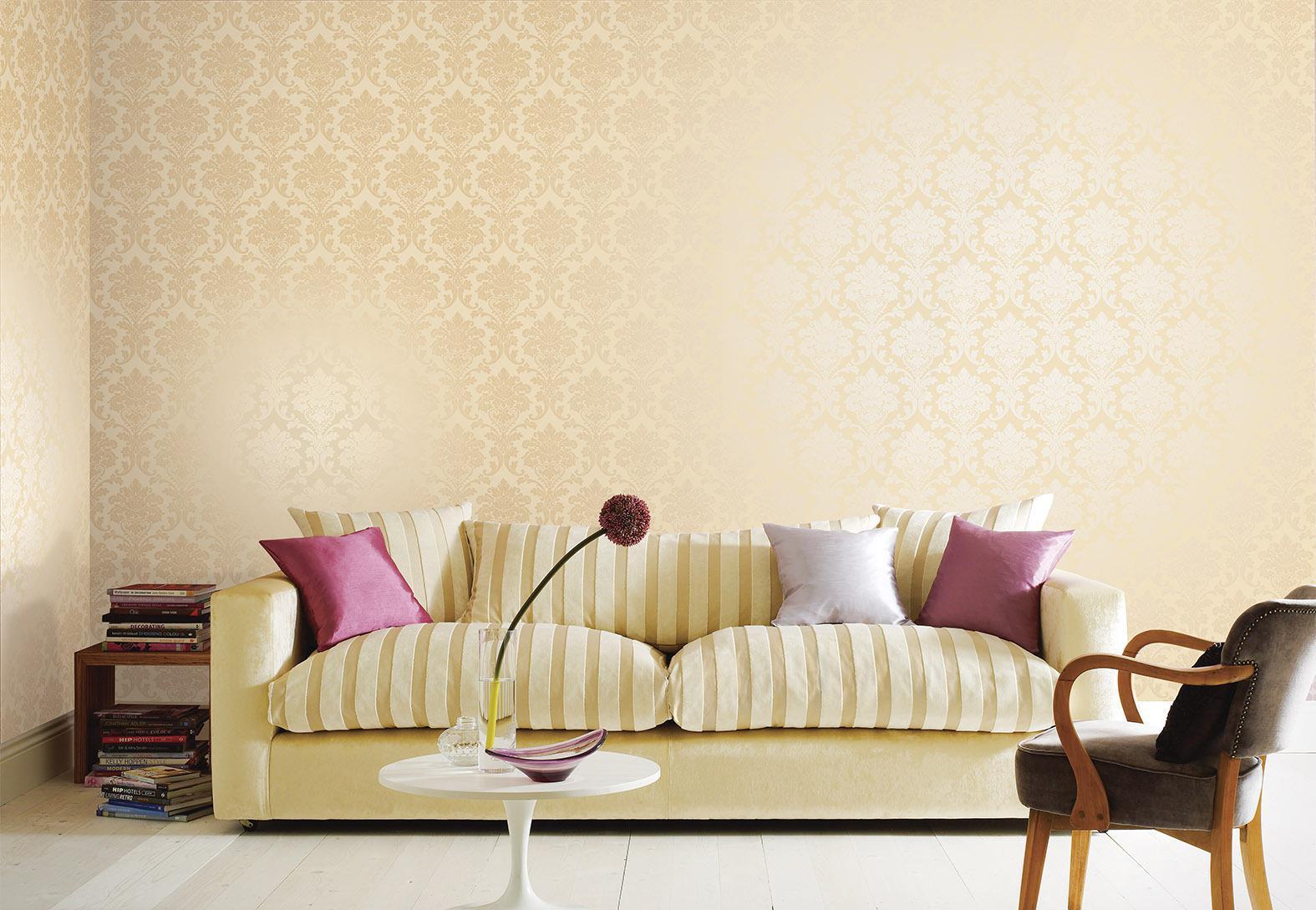 墙面装修不要贴墙纸了,有钱人都这样装,既美观又防潮!