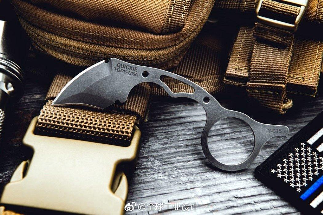 Quickie Karambit 是一种刀具,属于EDC类别,用于户外