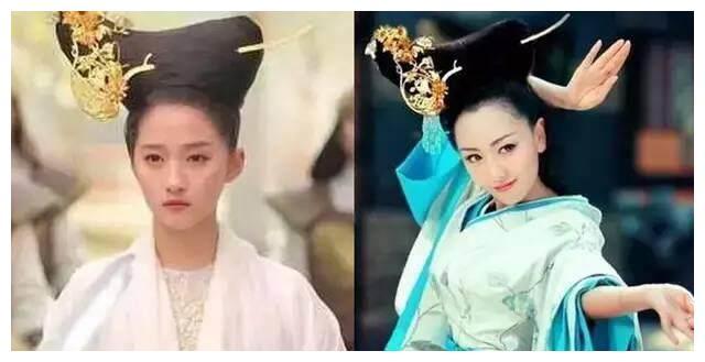 都说关晓彤缝纫机发型是被坑了,杨蓉跟关晓彤比起杨蓉差多了