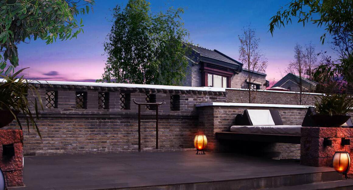 新中式建筑|京都颐和城—以自然为笔,化砖瓦为诗