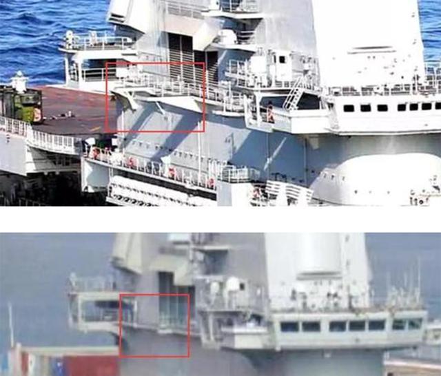 辽宁舰整修细节曝光,外形向国产航母靠拢,舰岛与天线有明显变化