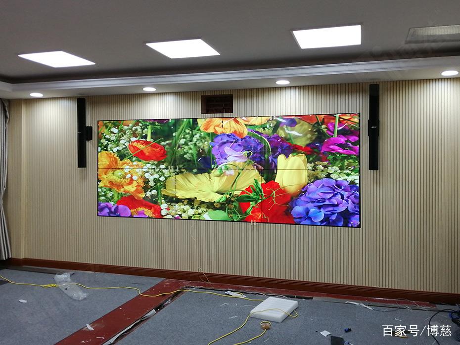 三星1.7mm55寸液晶拼接屏入驻上海仁济医院东院