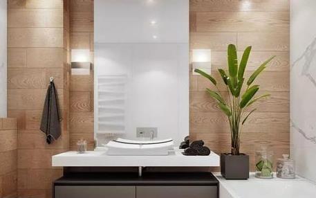 卫浴间改造,用什么洁具会显得更加时尚?
