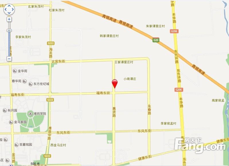亨德国际花园 PK 汽配城宿舍谁是潍坊最热门小区