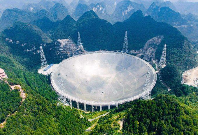 """中国天眼遇到下雨天就是""""洗脸盆""""?科学家告诉你什么是高科技!"""
