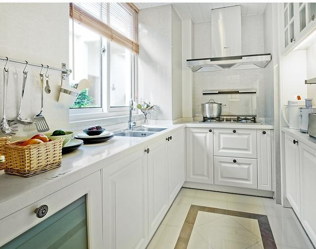 等我买房了,一定要买下这些厨具,太高级了,厨房整洁又干净