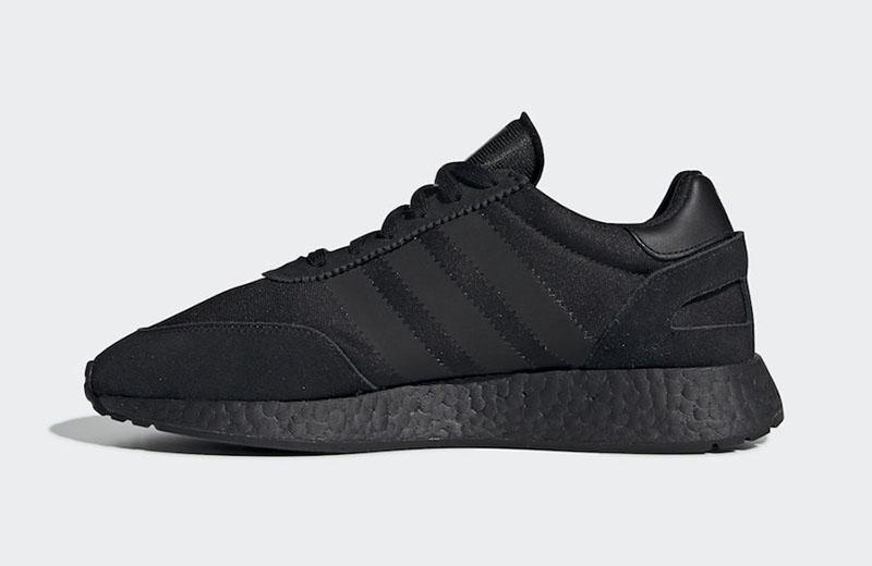 超酷小黑鞋!全掌 Boost 复古跑鞋 adidas I-5923 即将发售