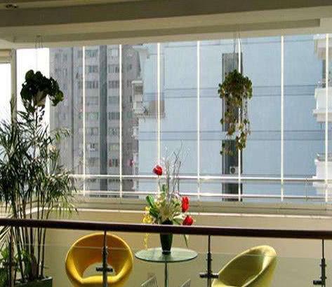 封阳台别用塑钢窗了,越来越多人这样做,效果起码好十倍