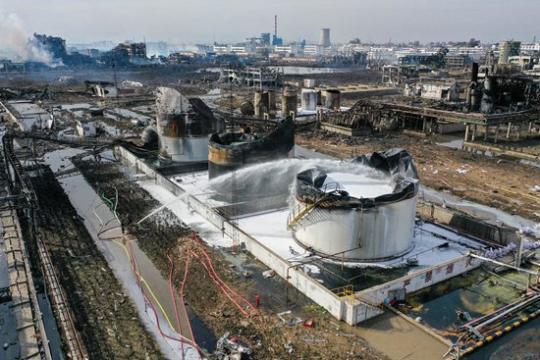 江苏响水爆炸事故现场救援记:72小时救与寻 江苏盐城化工厂爆炸事故最新消息
