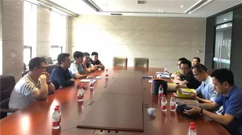 泰斗正圆集团与东方今典张泽保达成电缆管材等合作协议