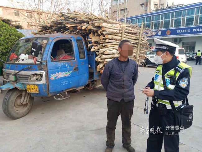 报废车竟用来运苗木,要命的是该车每天行程超百公里