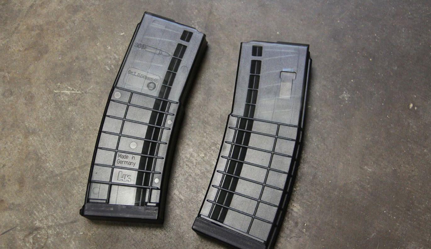 美打造出新型30发聚合物透明弹匣,单价很低网购就能买!