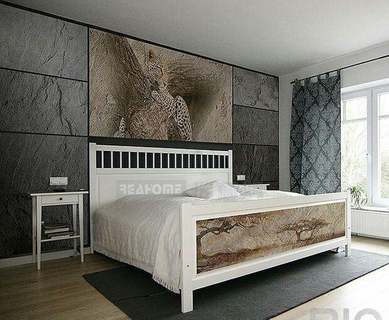 意想不到,超薄板岩在卧室应用如此迷人