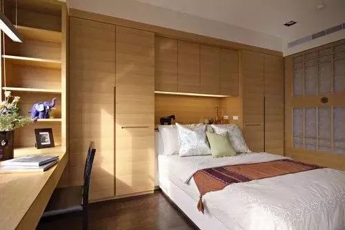34款木色衣柜,实木或人造板都可以实现2.4