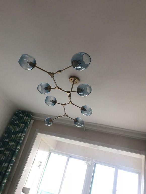 100平两室新房装修, 装修费用5万, 顶都没做, 只贴石膏线