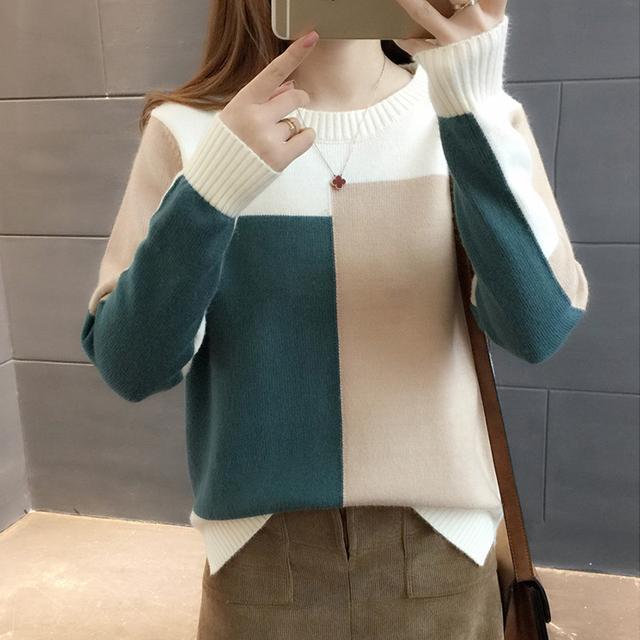 比羊绒衫还要洋气的毛衣,老婆一眼看中,大年初一穿,洋气暖又美