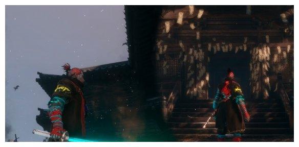 《只狼影逝二度》赛博朋克MOD 身穿灯管太刀成光剑